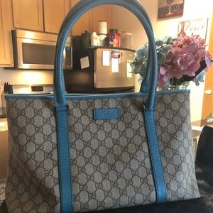 🚫SOLD🚫 Authentic Gucci GG  Monogram Joy Tote